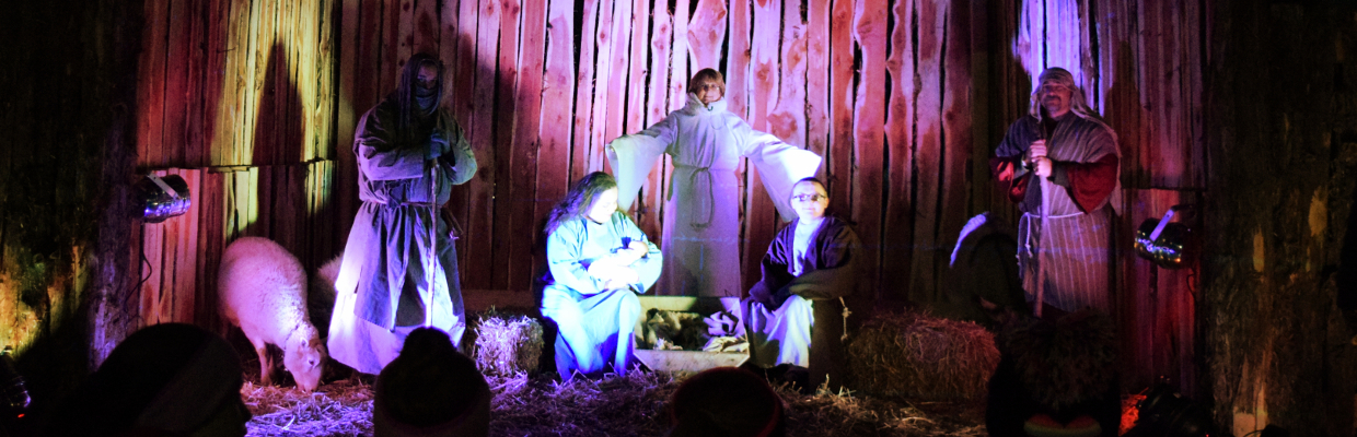 Living nativity rentals in Cincinnati, Dayton, Columbus and Louisville
