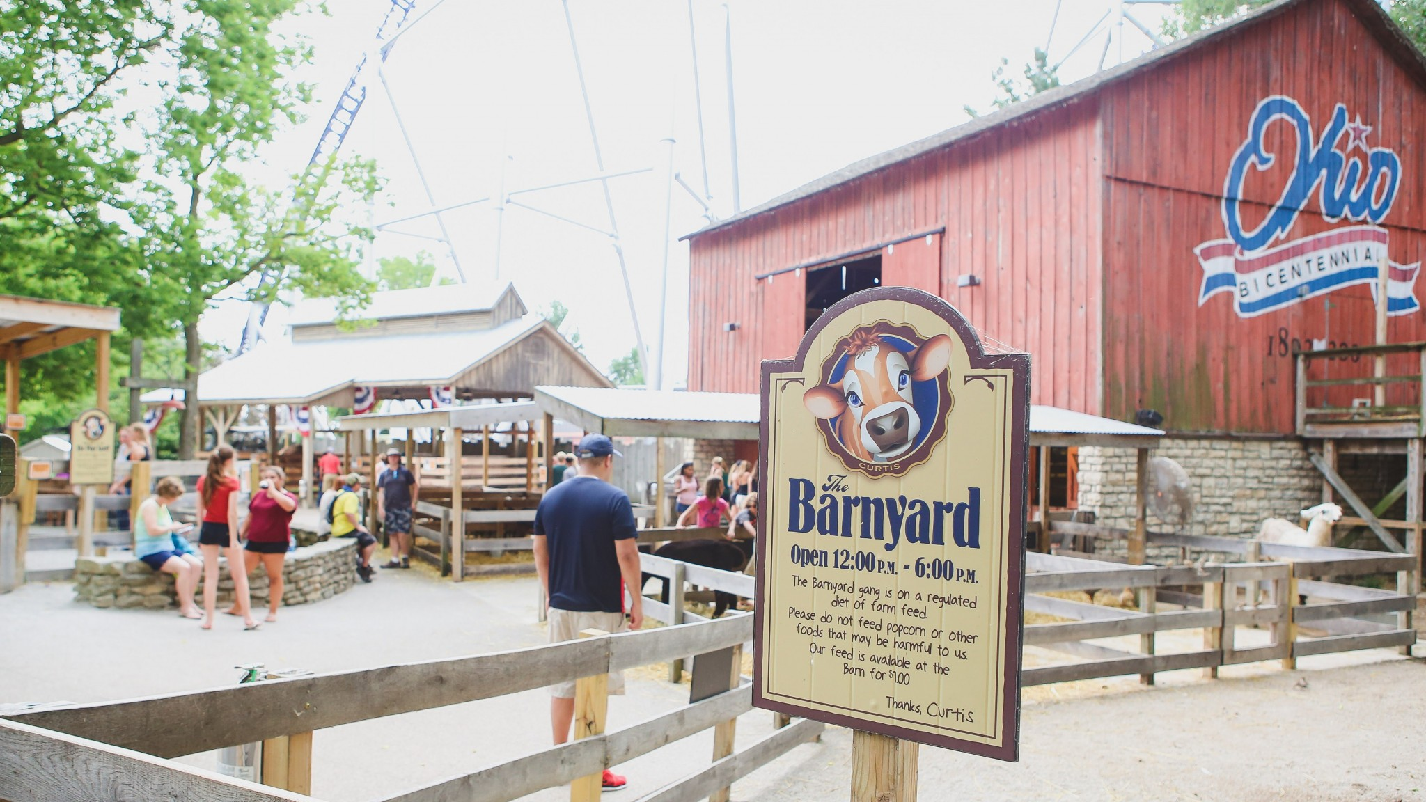 The Barnyard at Cedar Point will offer pony rides and new animals in 2017.